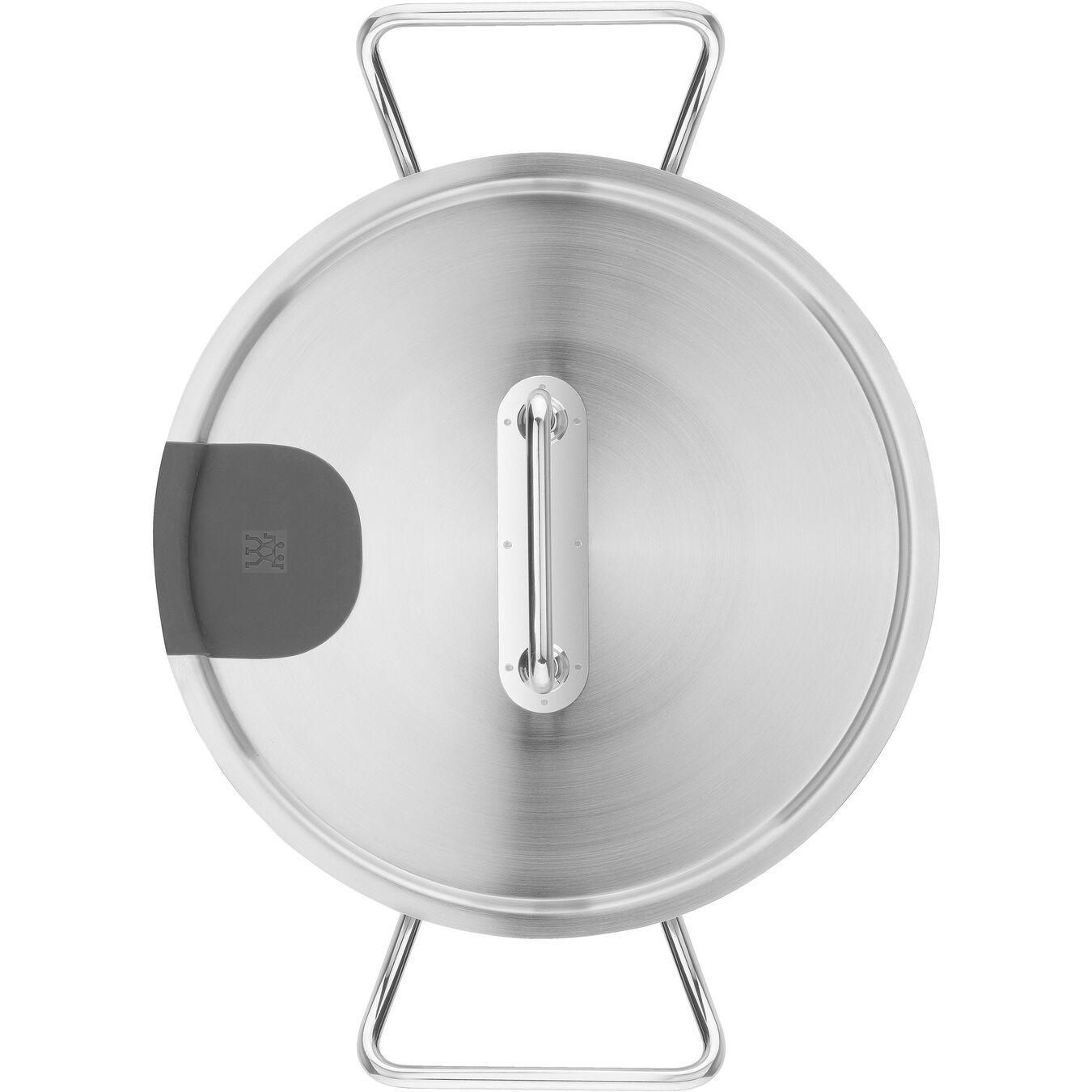 coperchio per cottura a bassa temperatura 24 cm, 18/10 acciaio inossidabile,,large 5