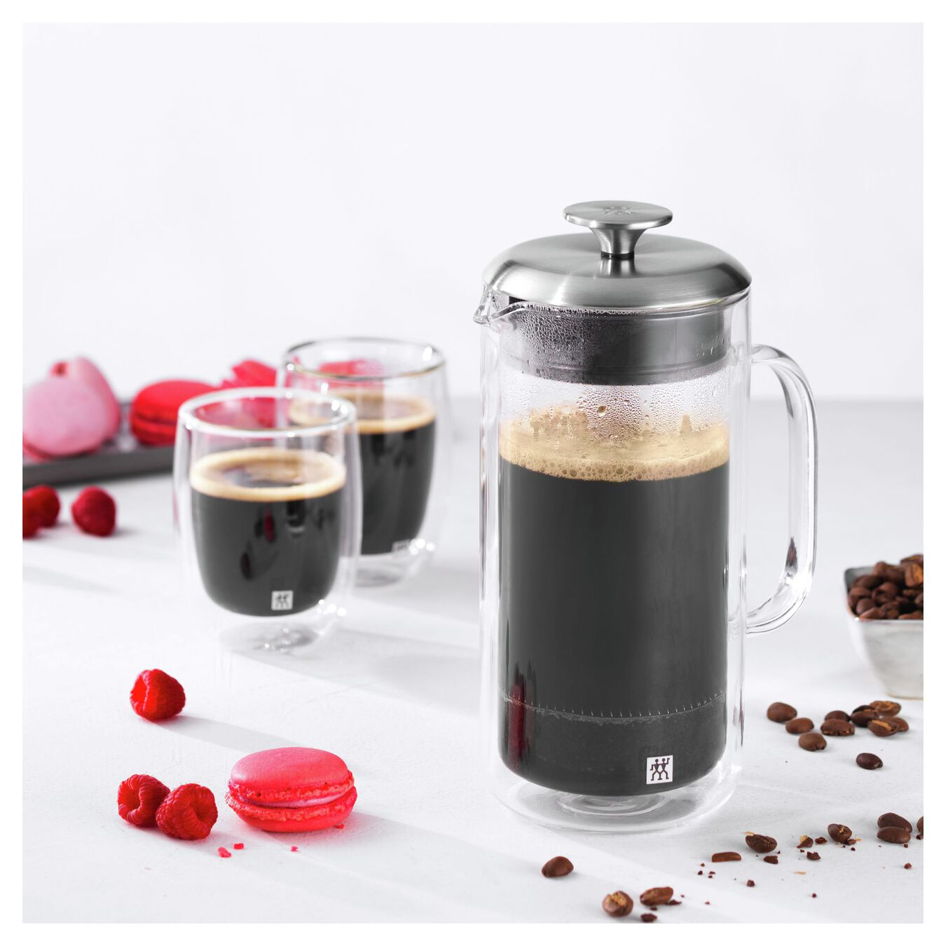 Double wall glas, French press,,large 2