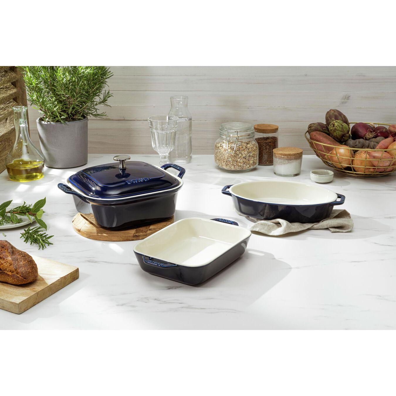 Ovenware set, 4 Piece | dark-blue,,large 7