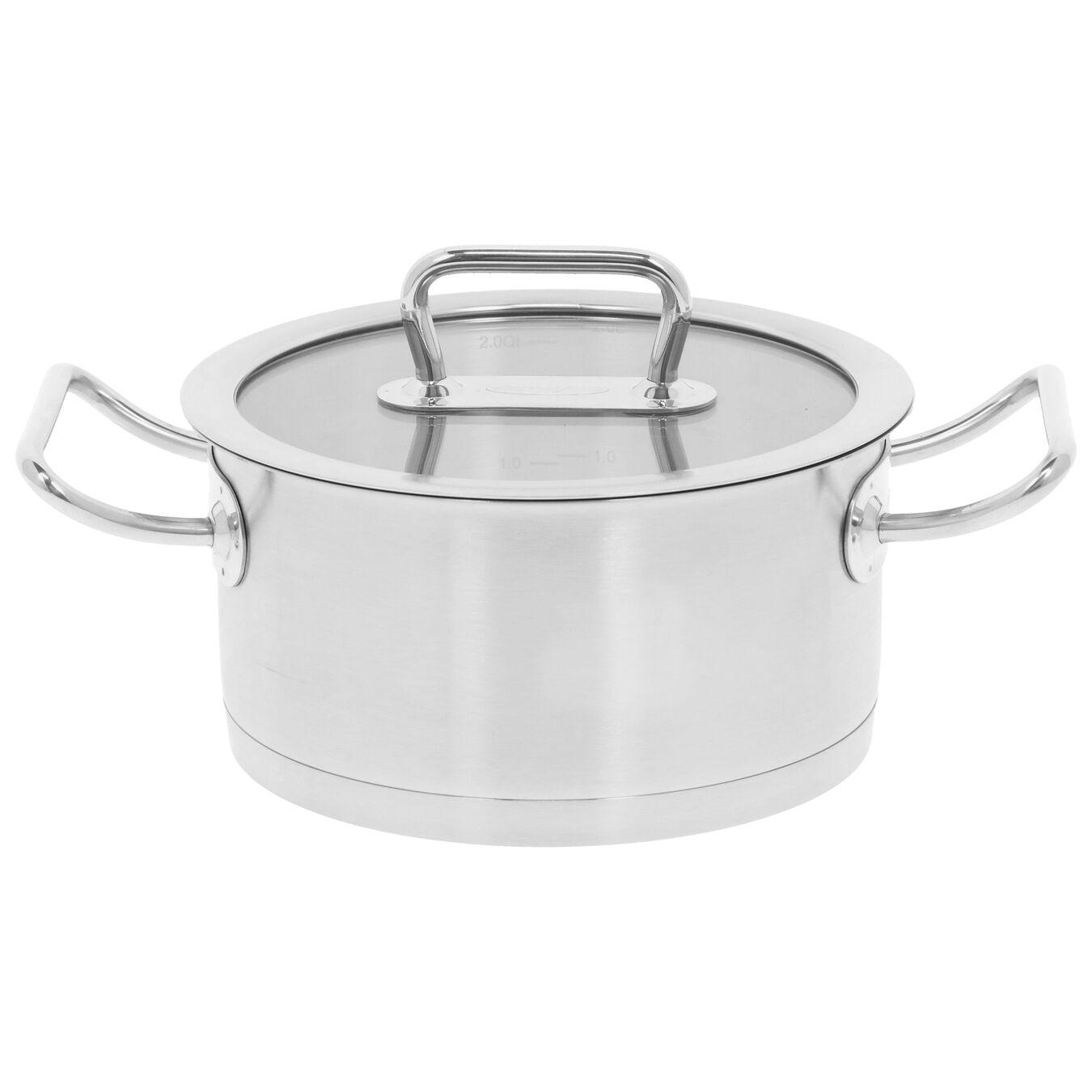 Kookpan met glazen deksel 20 cm / 3 l,,large 1