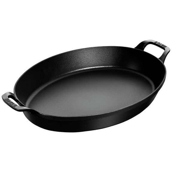 14.5-inch Cast iron Oven dish,,large