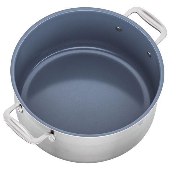 8-qt Ceramic Nonstick Stock Pot, , large 3