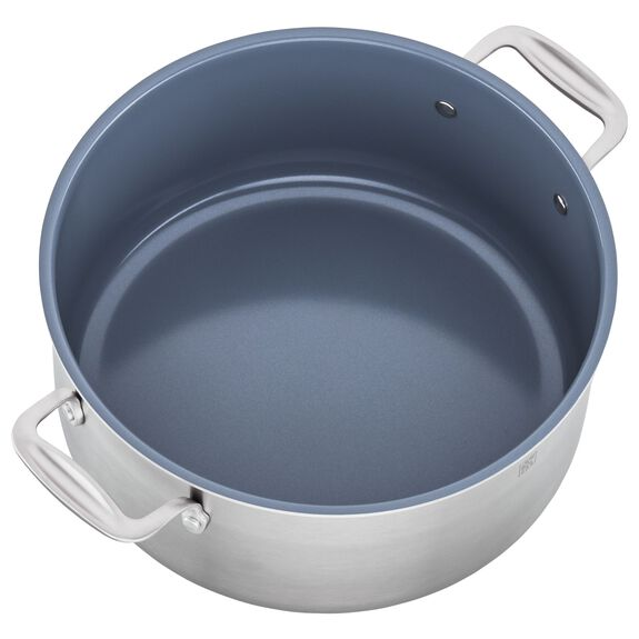 8-qt Ceramic Nonstick Stock Pot, , large 3