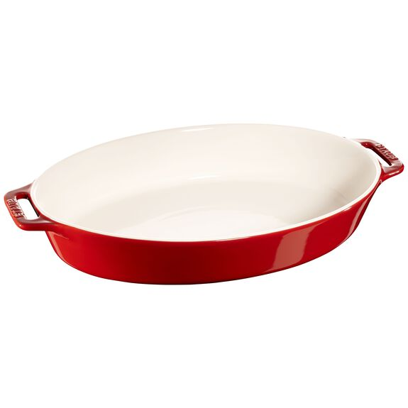 14.5-inch Oval Baking Dish - Cherry,,large 2