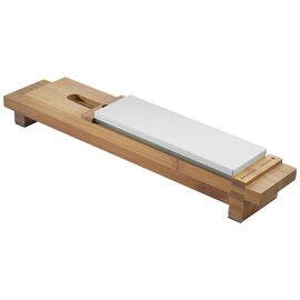 ZWILLING Sharpener, Bamboo Sharpening Stone Sink Bridge