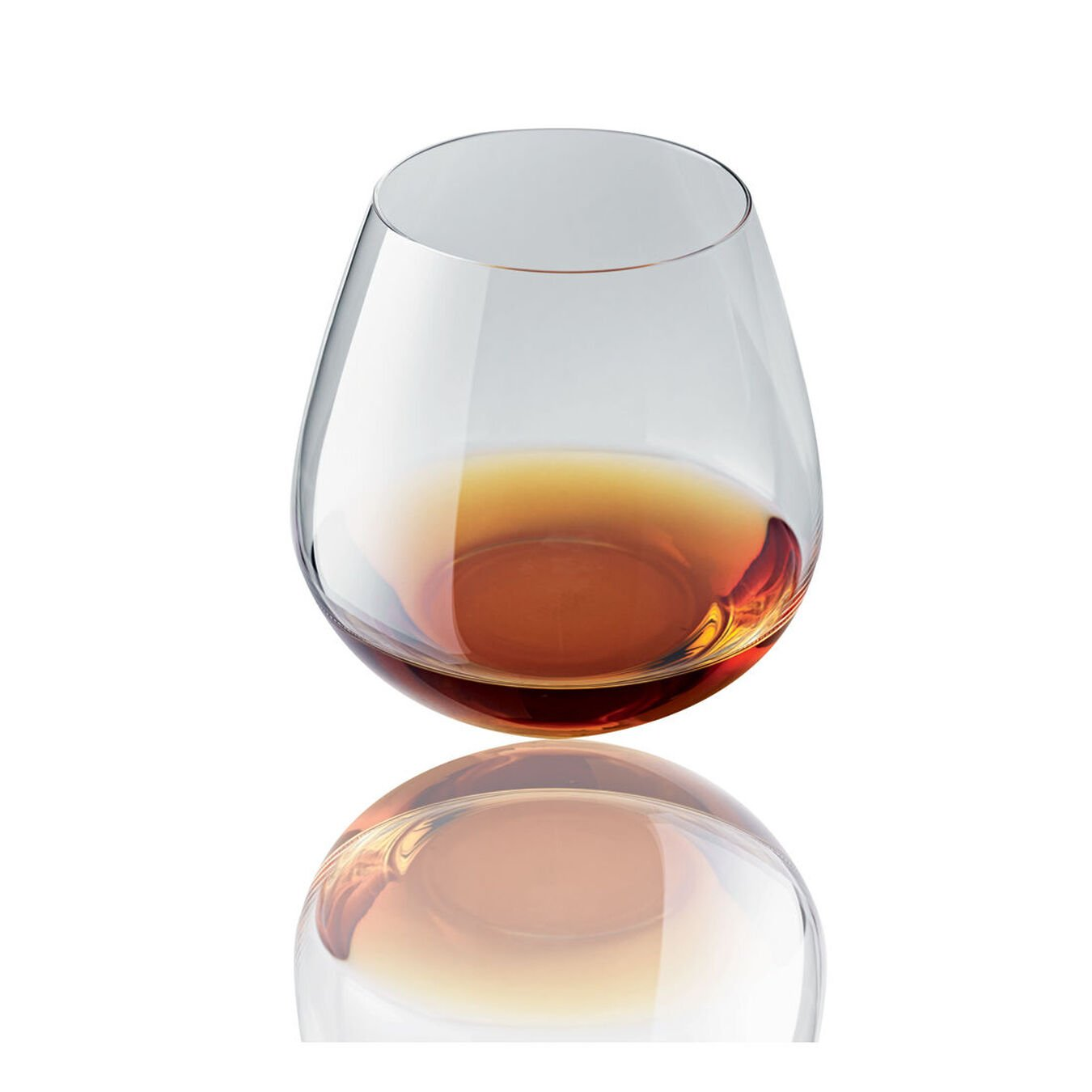 6-pc Whisky/Stemless Red Glass, ,,large 2