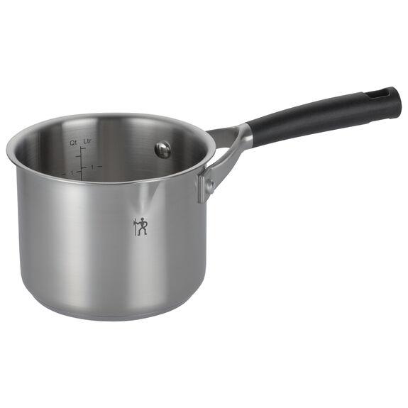 14-cm-/-5.5-inch round Milkpot, (no colour),,large 2