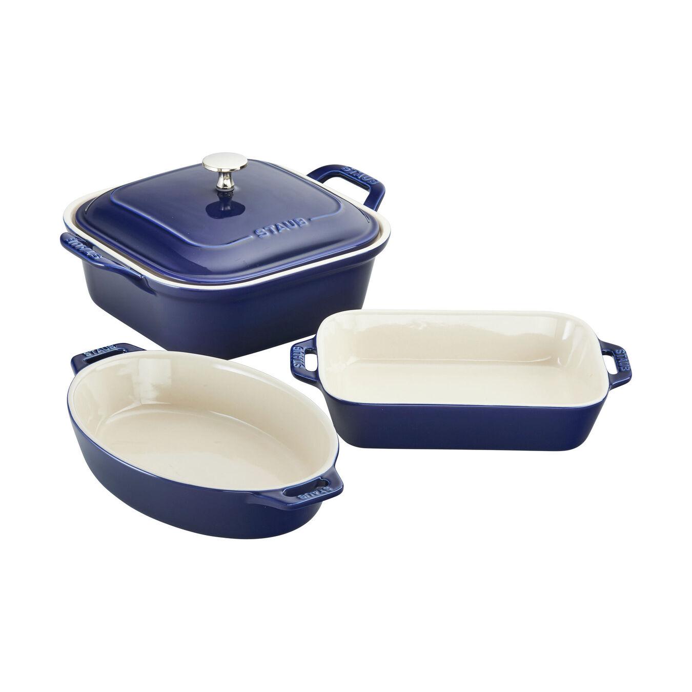 Ovenware set, 4 Piece | dark-blue,,large 2