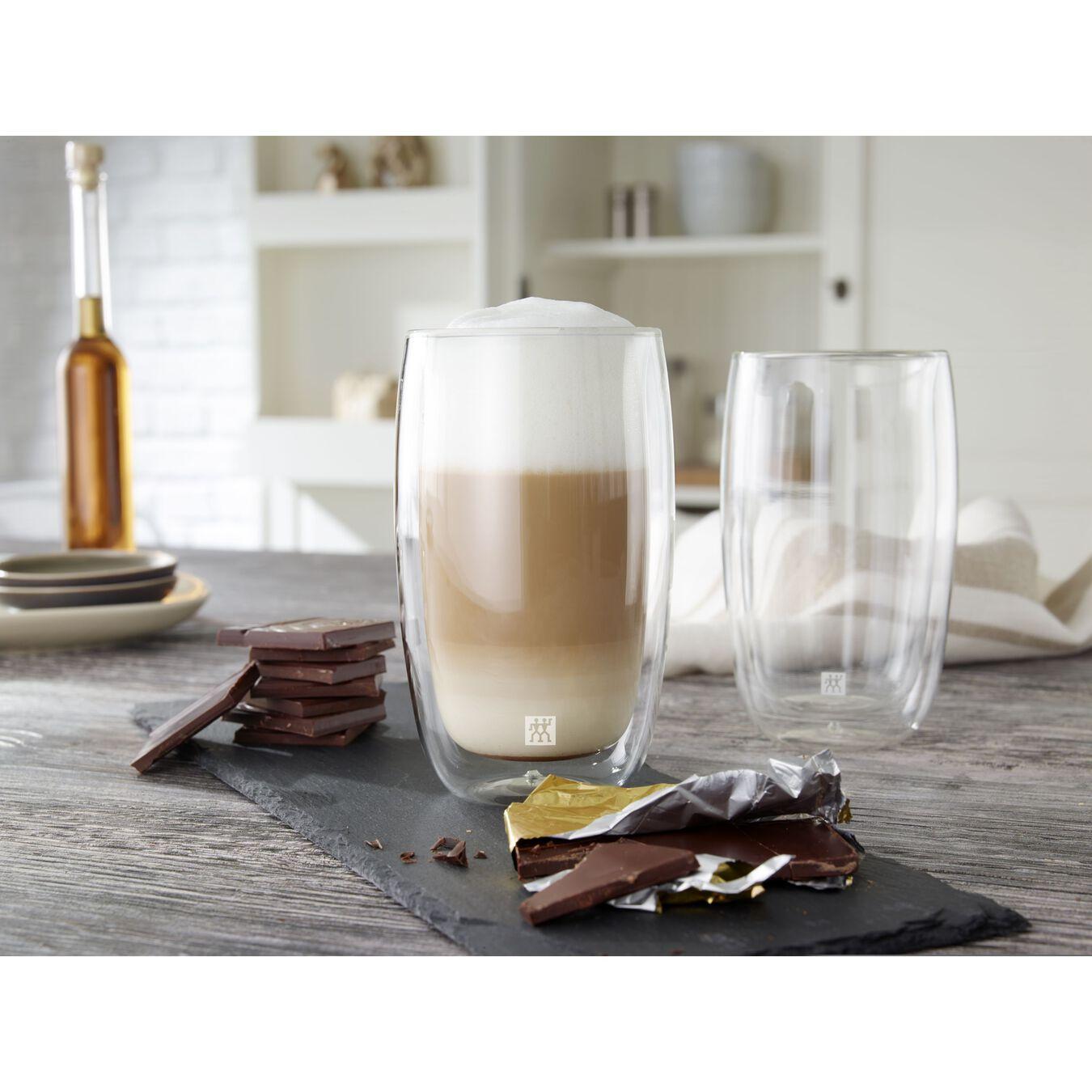 8 Piece Latte Glass Set - Value Pack,,large 3