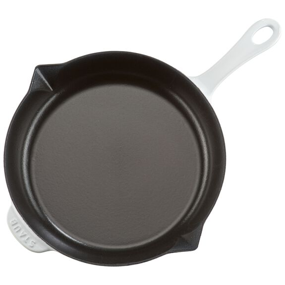 10-inch Cast iron Frying pan,,large 7
