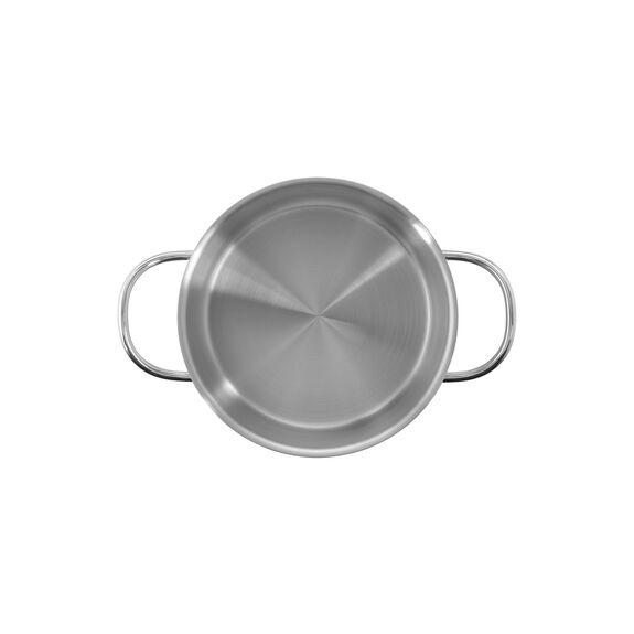 Derin Tencere, 26 cm x 17 cm | Yuvarlak | Metalik Gri,,large 8