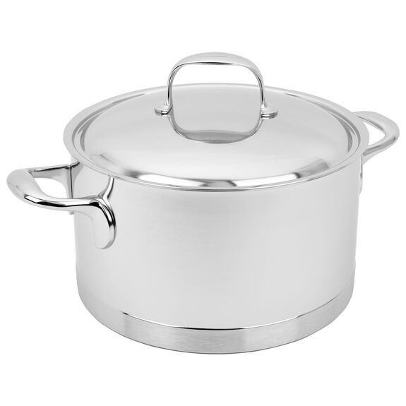 5.5-qt Stainless Steel Dutch Oven,,large 2
