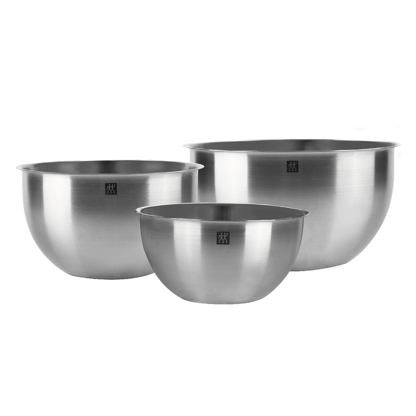 3 PIECE 18/10 STAINLESS STEEL MIXING BOWL SET,,large 1
