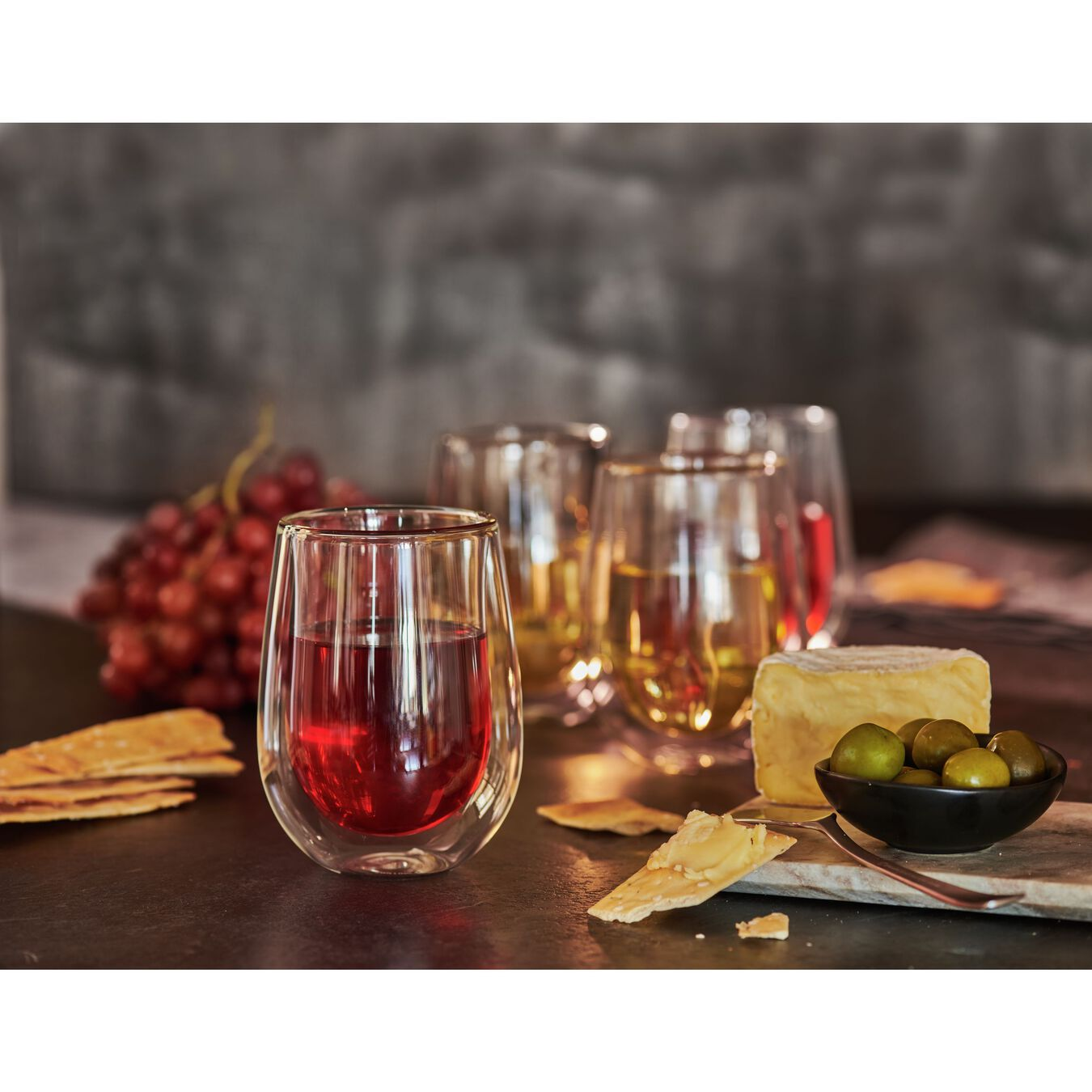 Double wall glas Sommelier set,,large 3
