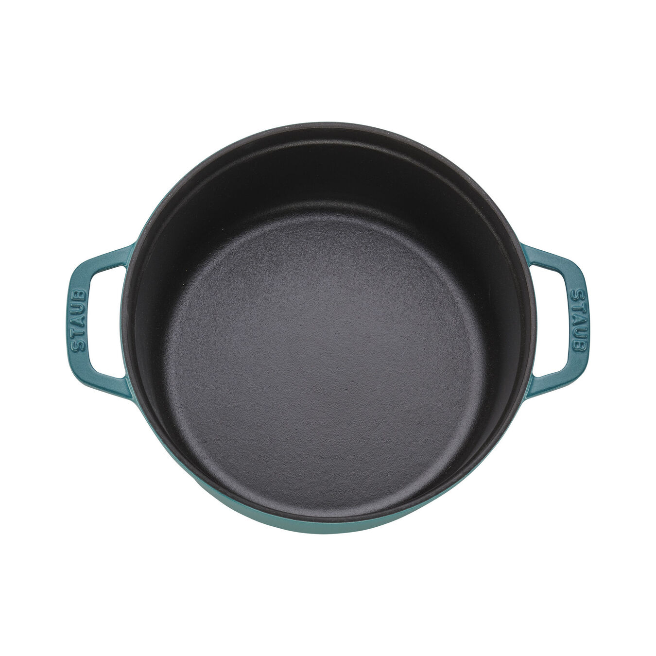 4-qt Round Cocotte - Turquoise,,large 3