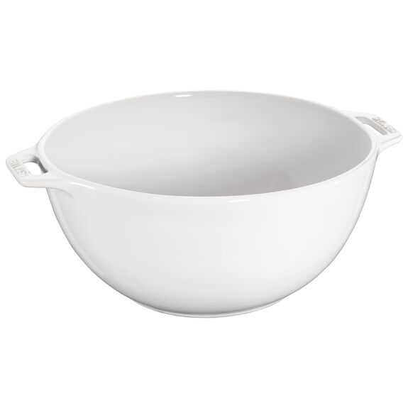 9.5-inch Large Serving Bowl - White,,large