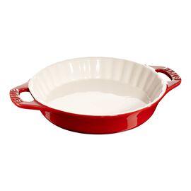 Staub Ceramics, 9-inch Pie Dish - Cherry