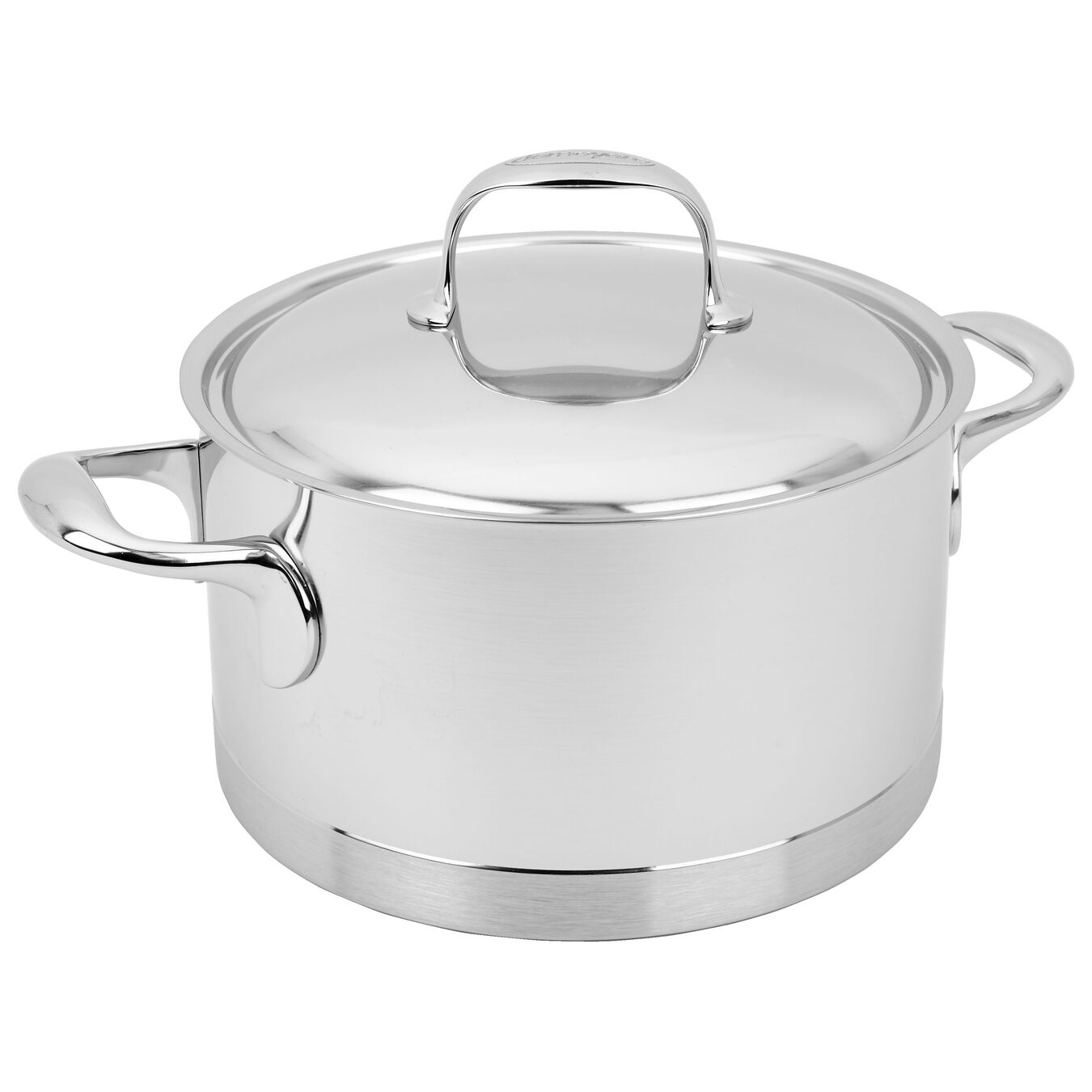 4 l 18/10 Stainless Steel Stew pot with lid,,large 3