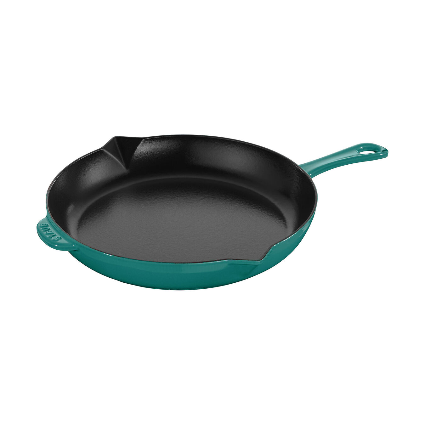 10-inch, Frying pan, turquoise,,large 1