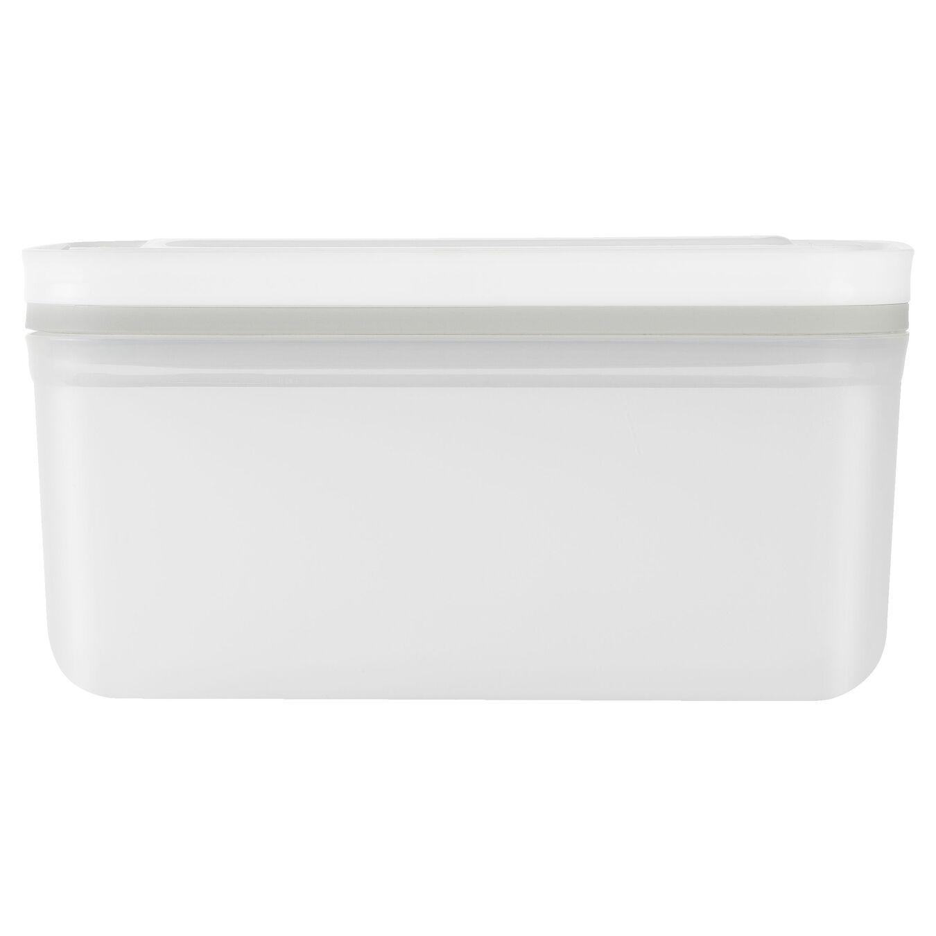 Vacuum Container, medium, Plastic, White,,large 3