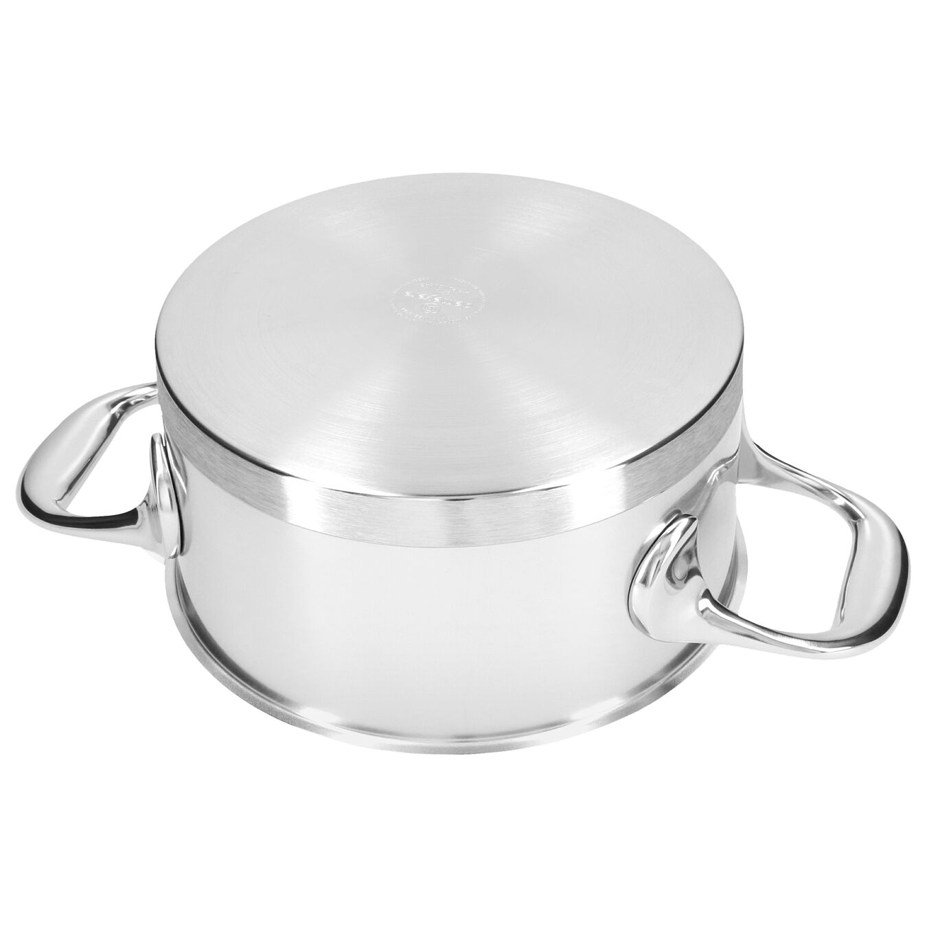 1.5 l 18/10 Stainless Steel Stew pot with lid,,large 4