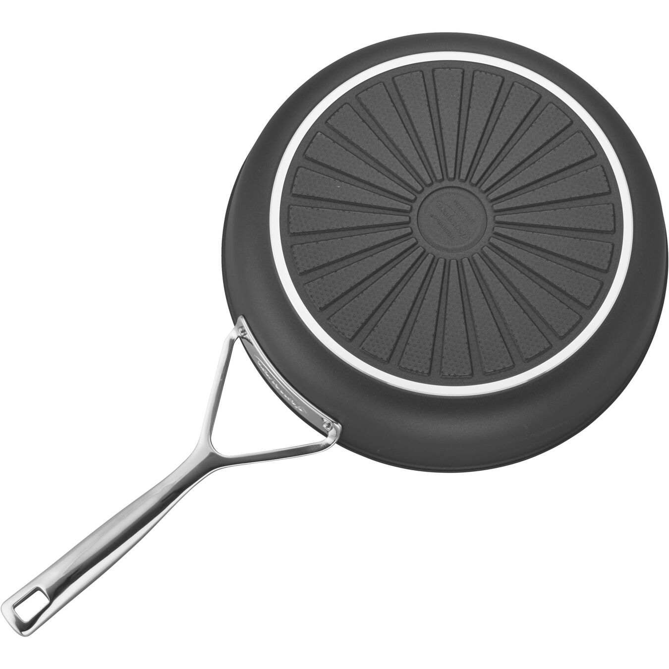 28 cm / 11 inch Aluminum Frying pan high-sided,,large 4