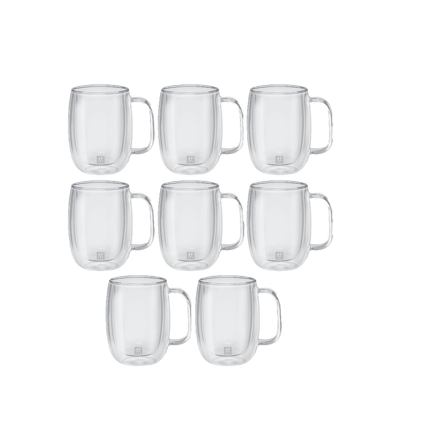 8 Piece Double-Wall Coffee Mug Set,,large 2