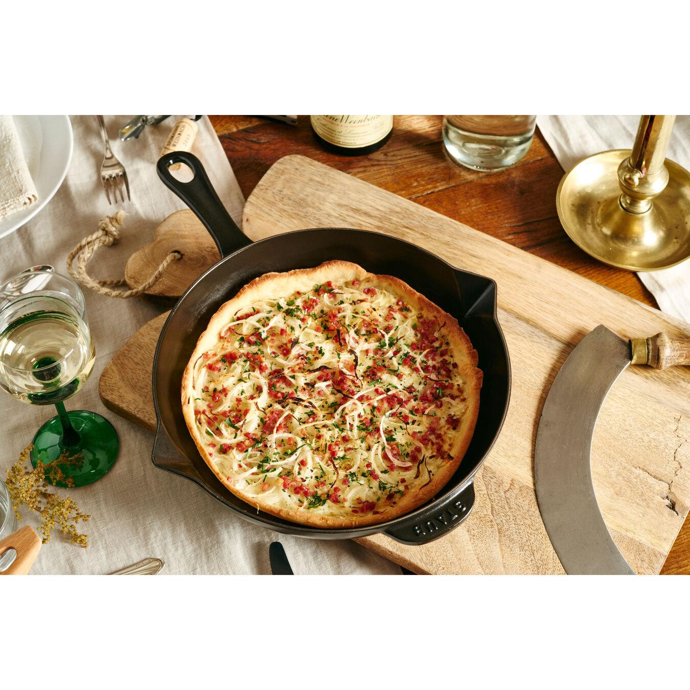 12-inch, Fry Pan, black matte,,large 2