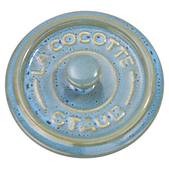 3-pc Mini Round Cocotte Set - Rustic Turquoise,,large 5