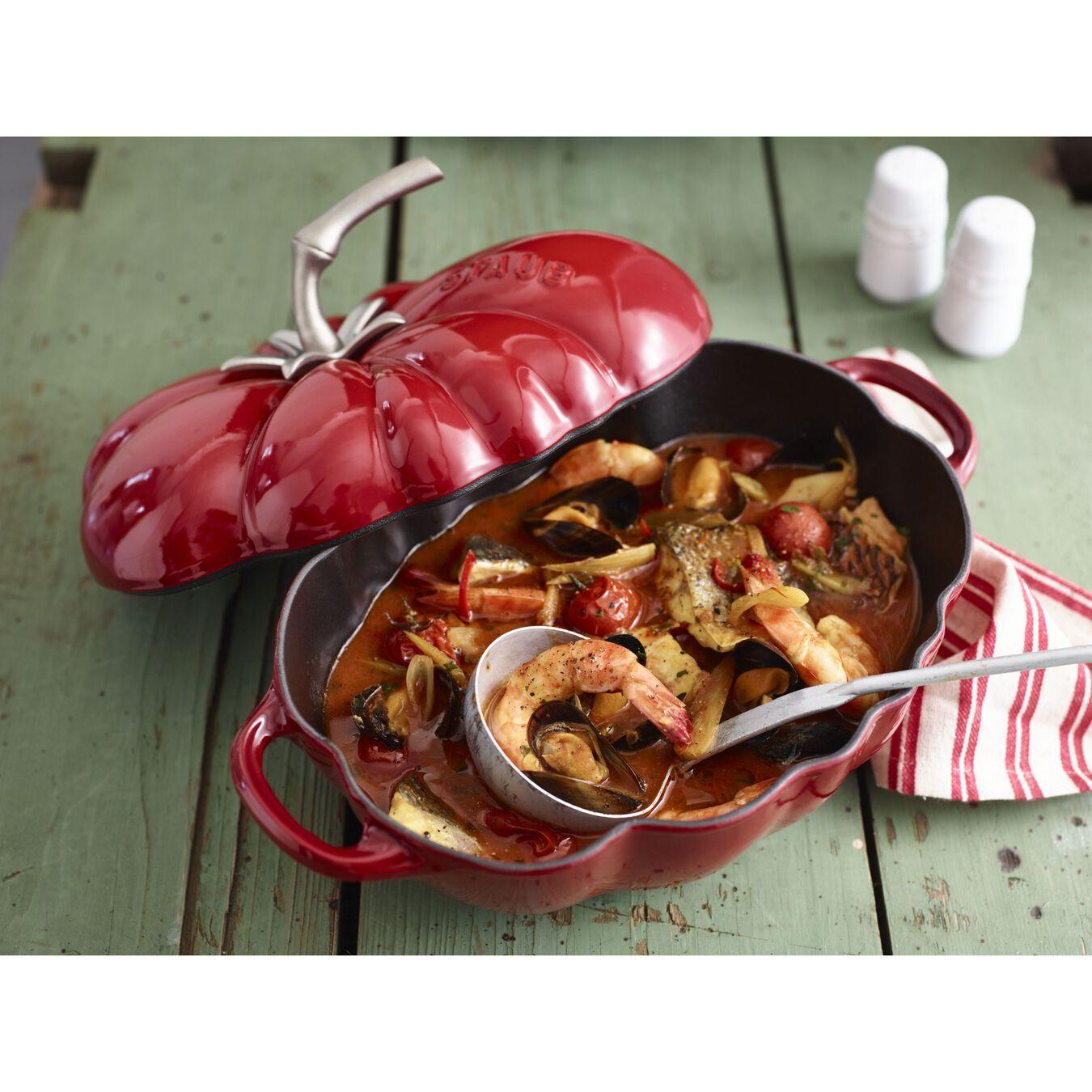 Cocotte pomodoro - 25 cm, ciliegia,,large 2