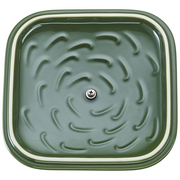 9-inch x 9-inch Square Covered Baking Dish, Basil, , large 5