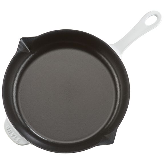 10-inch Fry Pan - White,,large 7