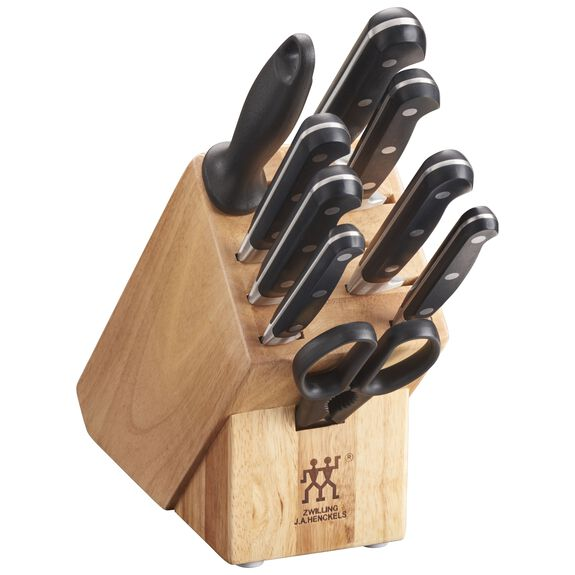10-pc Knife block set ,,large