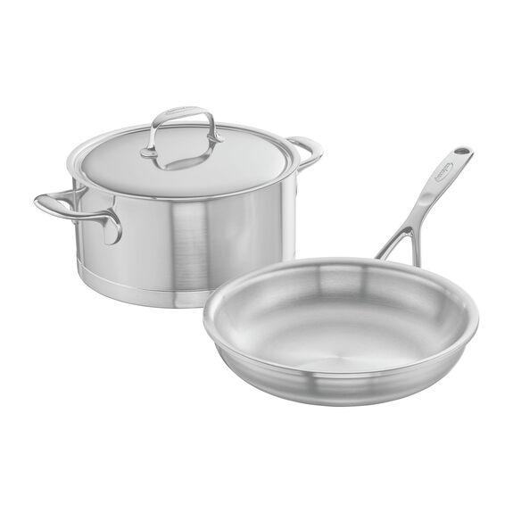 3-pc  Pots and pans set,,large