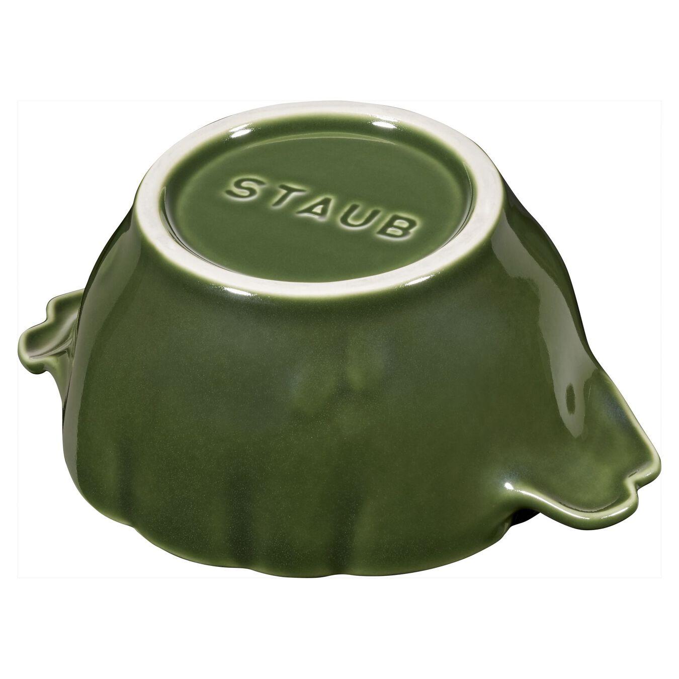 Ceramic Cocotte | Fesleğen | 13 cm | 450 ml | Enginar,,large 4