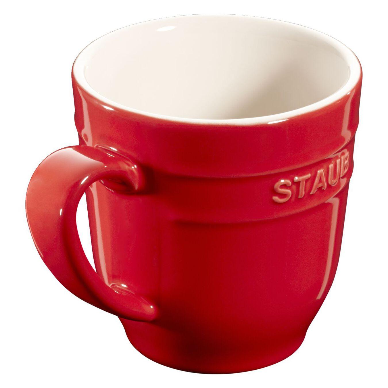 round Mug, cherry,,large 2