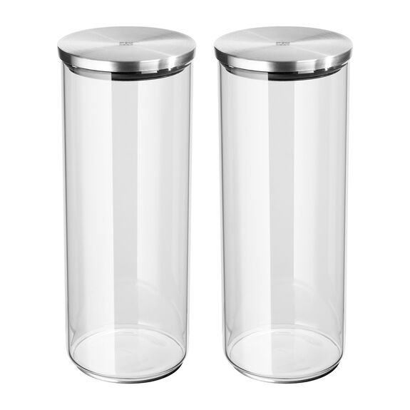 Borosilicate glass Storage pot,,large