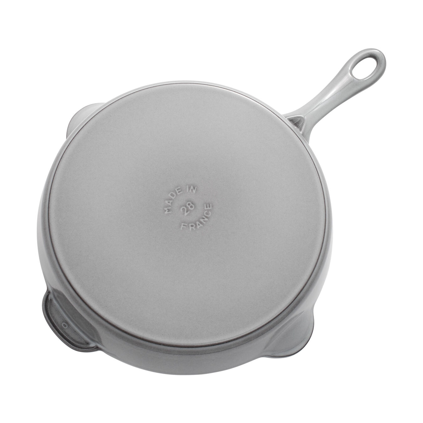 11-inch, Traditional Deep Skillet, graphite grey,,large 4