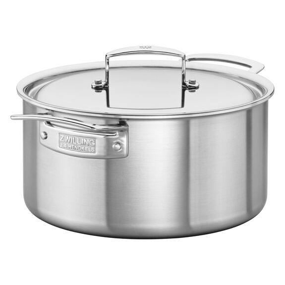Stainless Steel 5.5-Qt. Dutch Oven,,large 4