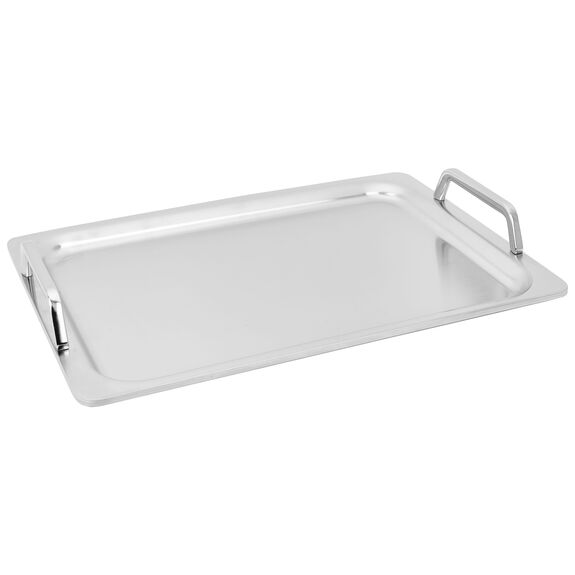 5-ply Stainless Steel Teppanyaki/Plancha Griddle - 15.4-inch x 10.6-inch - Visual Imperfections,,large 2