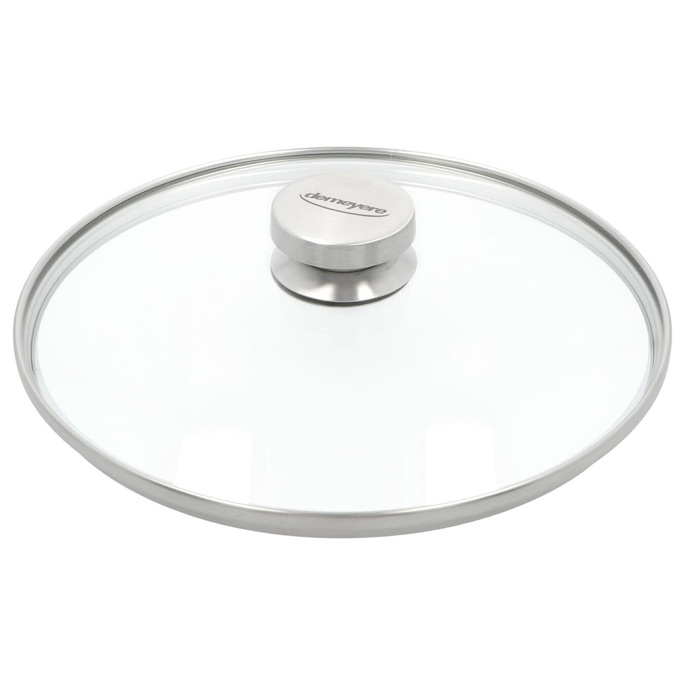 Coperchio - 26 cm, vetro,,large 1