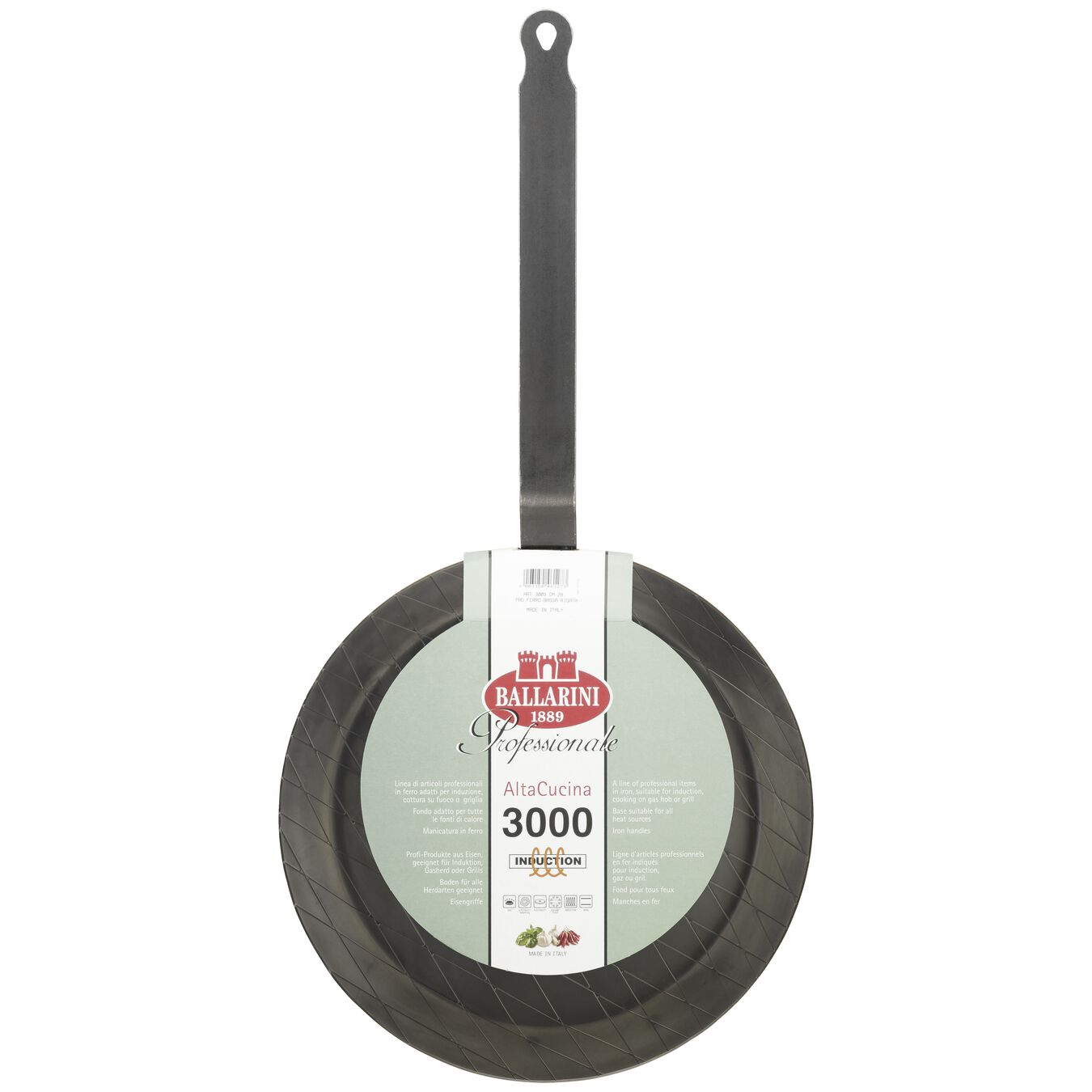 28 cm / 11 inch Carbon steel Frying pan,,large 3