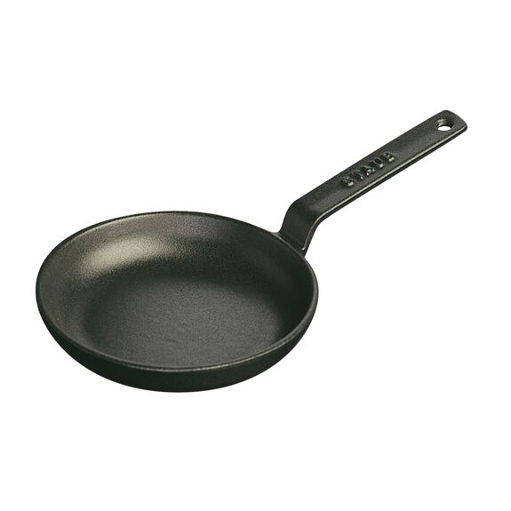 4.75-inch Mini Frying Pan - Matte Black,,large 2