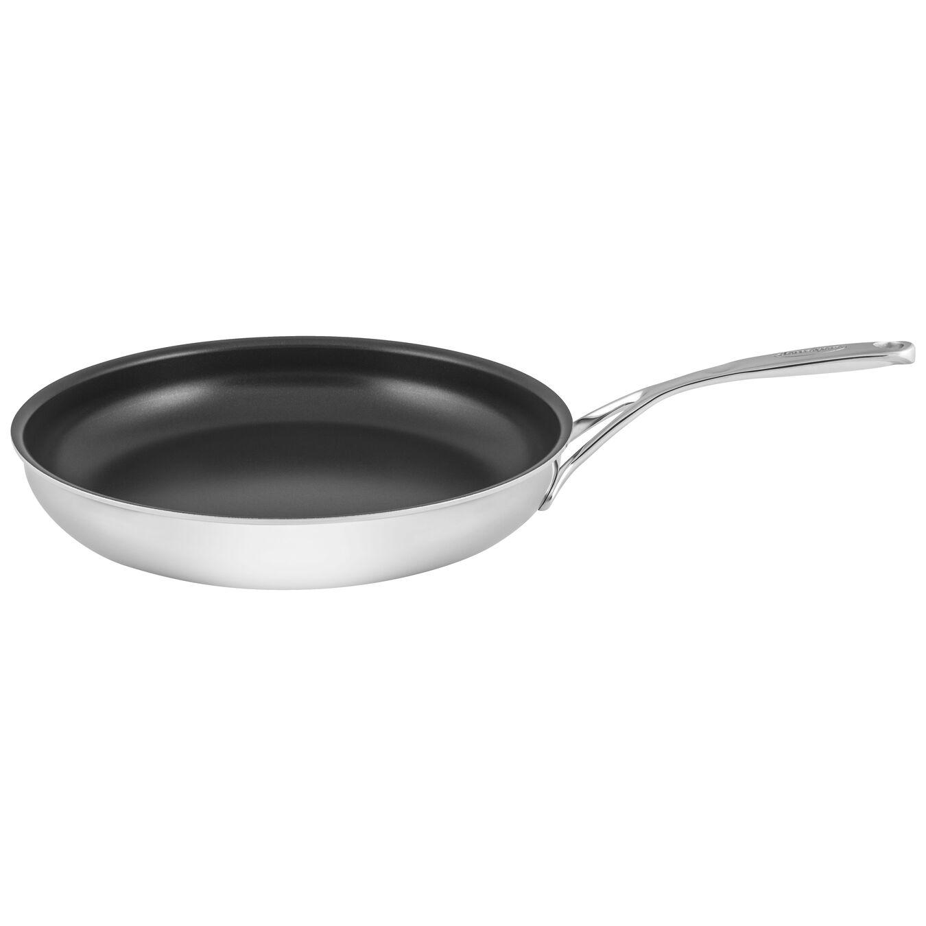 Poêle 32 cm, Inox 18/10, Silver-Black,,large 1