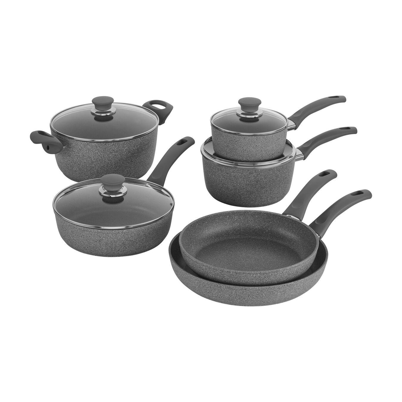 10 Piece 10 Piece Cookware set,,large 1