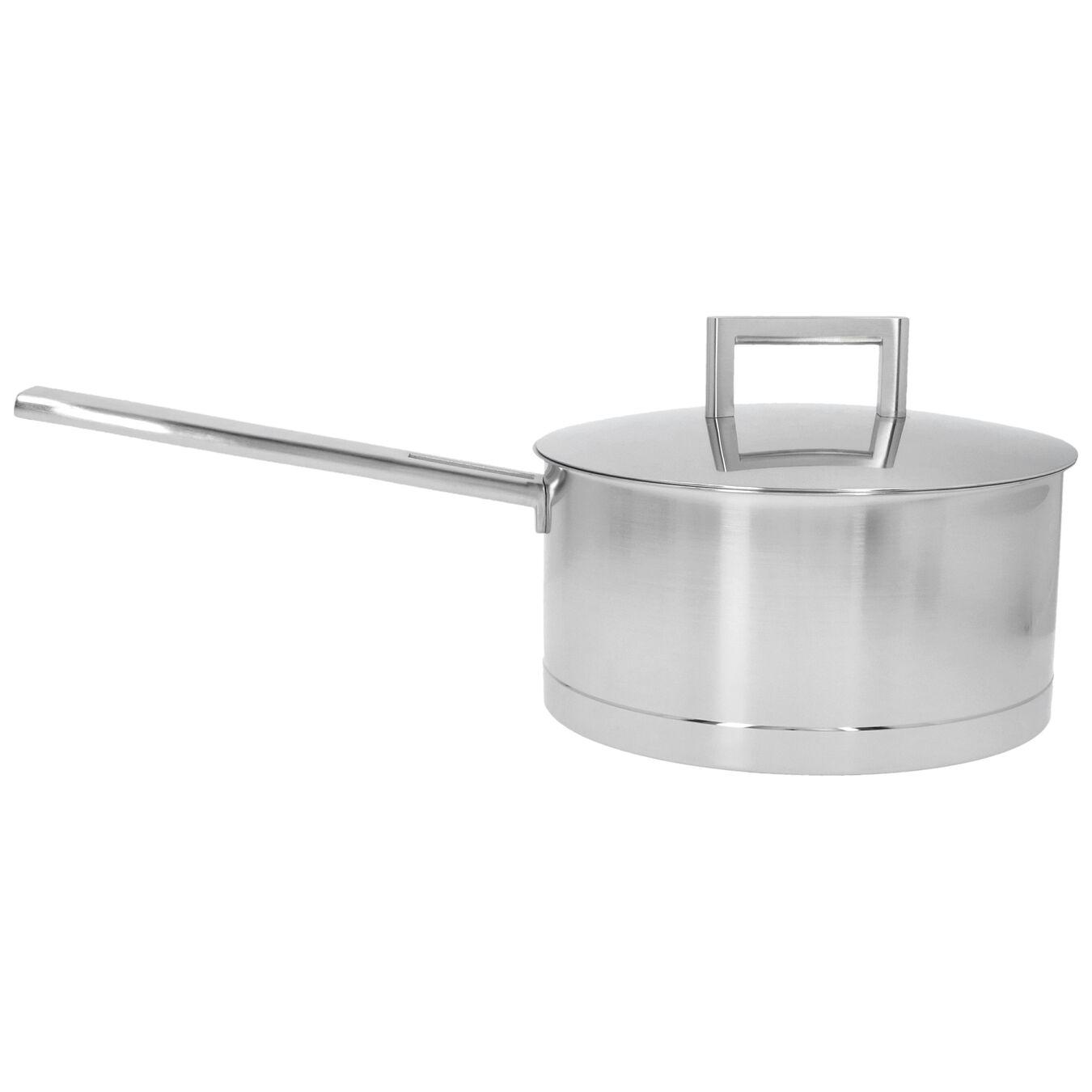 Sos Tenceresi Kapaklı | 18/10 Paslanmaz Çelik | 20 cm | Metalik Gri,,large 1