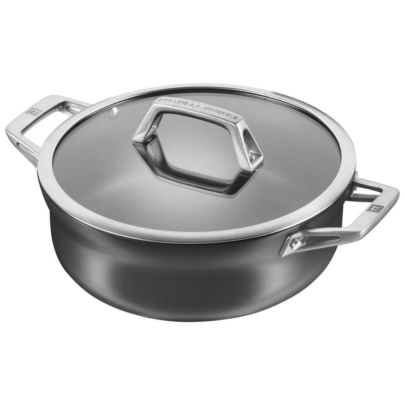 4-qt Aluminum Nonstick Chef's Pan,,large 1
