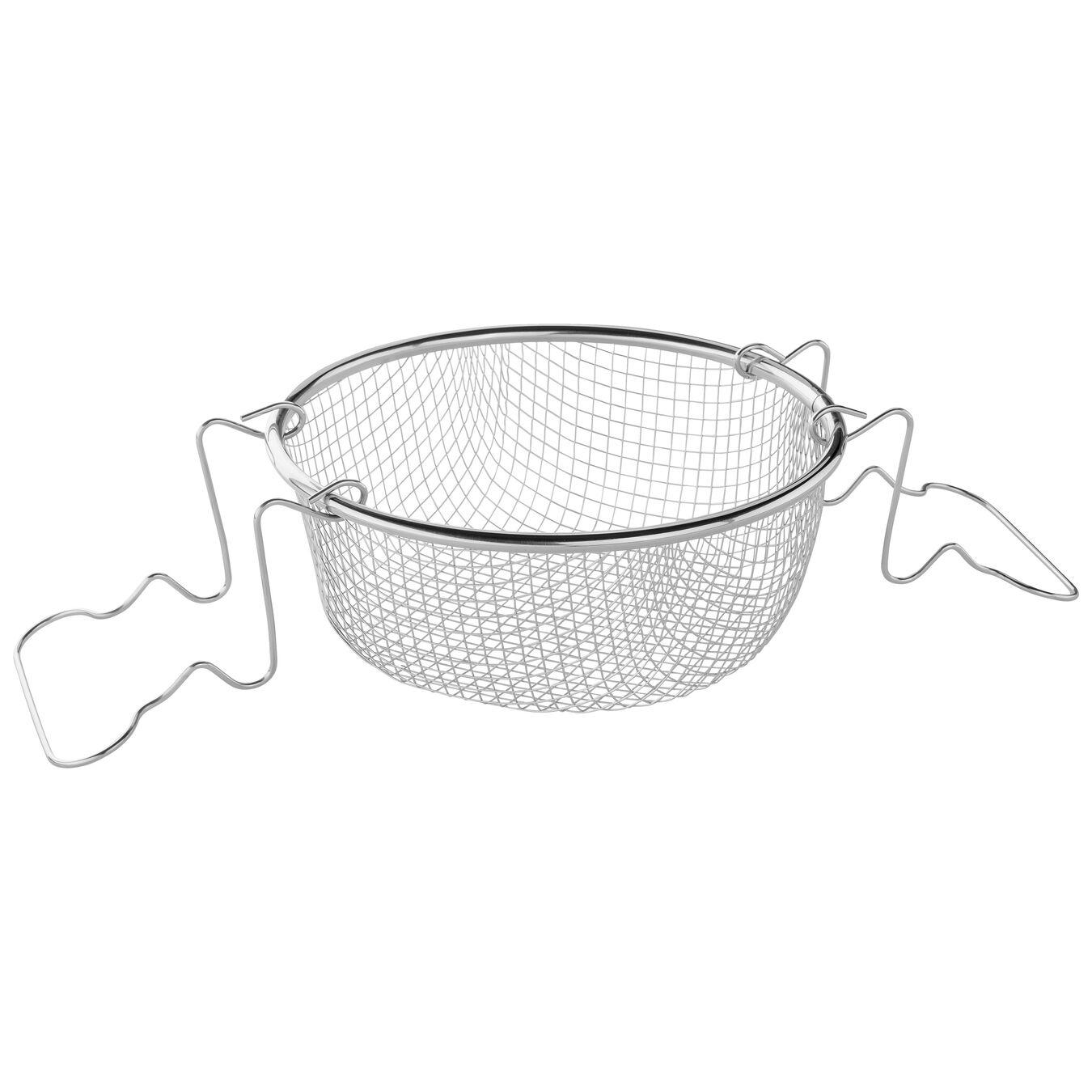 Cestello per friggere - 22 cm, acciaio,,large 2