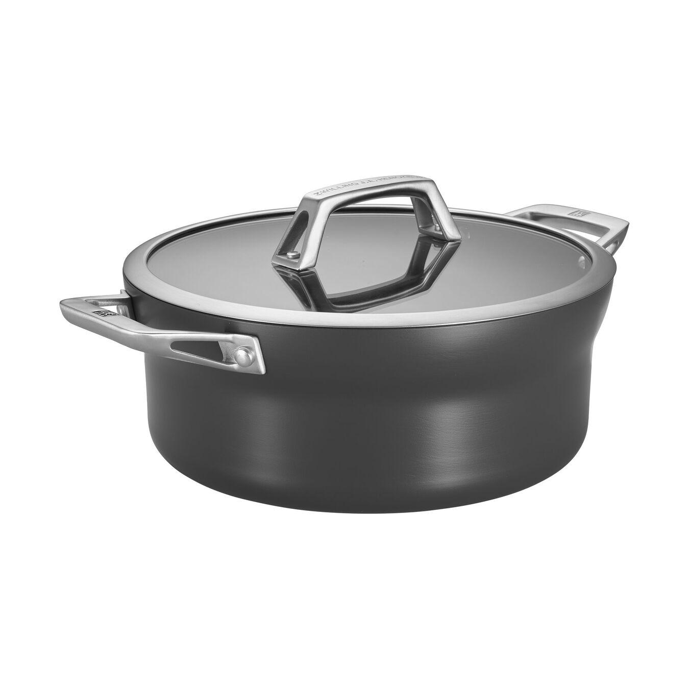 5 qt, Aluminum, Non-stick, Stew pot,,large 1