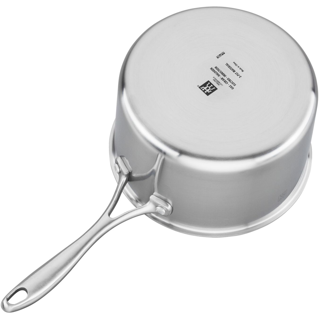 3-ply 4-qt Stainless Steel Saucepan,,large 2